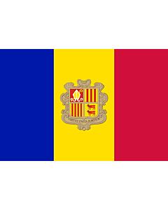 Flag: Andorra