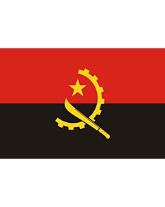 Flag: Angola