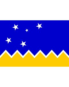 Flag: Magallanes and Chilean Antarctica Region, Chile