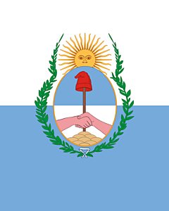 Flag: Mendoza Province