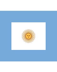 Flag: Naval Jack of Argentina