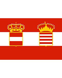 Flag: Naval Ensign of Austria Hungary 1918
