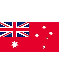Flag: The Australian Red Ensign