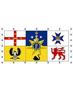 Flag: Queen Elizabeth II s personal flag for Australia