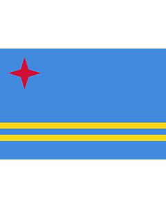 Flag: Aruba