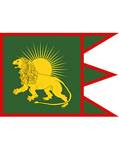 Flag: Sketch of a possible Flag of the Mughal Empire