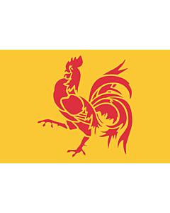 Flag: Wallonia (Walloon Region)
