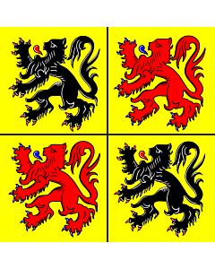 Flag: Hainaut