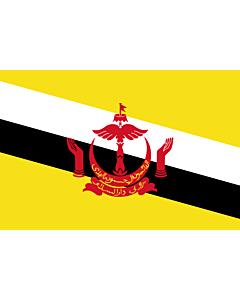 Flag: Brunei Darussalam