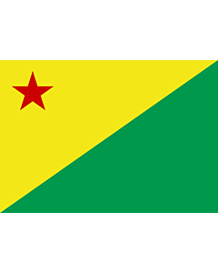 Flag: Acre (state)