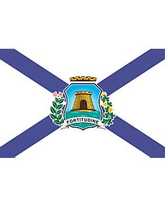 Flag: Fortaleza Ceara Brasil