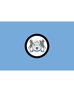 Flag: Standard of the President of Botswana