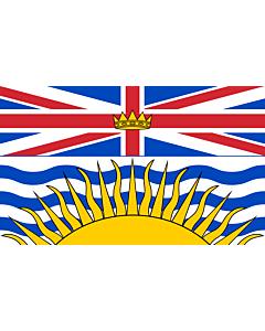 Flag: British Columbia
