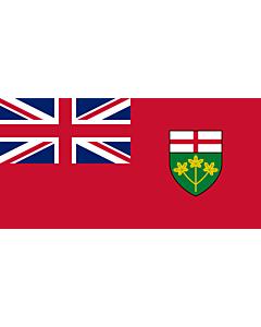Flag: Ontario