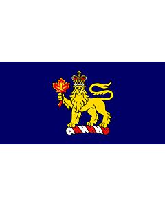 Flag: Governor General w en LeBlanc of w en Canada