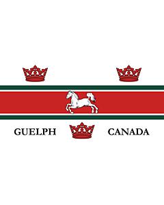 Flag: City of Guelph, Ontario, Canada