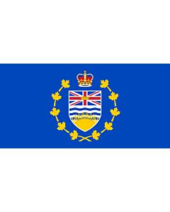 Flag: Lieutenant-Governor of British Columbia