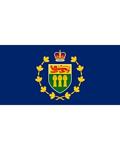 Flag: Lieutenant-Governor of Saskatchewan