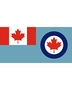 Flag: Royal Canadian Air Force ensign