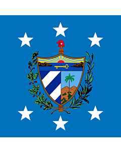Flag: President of Cuba