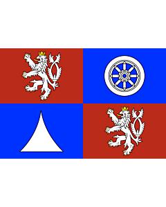 Flag: Liberec Region