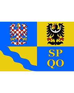 Flag: Olomouc Region