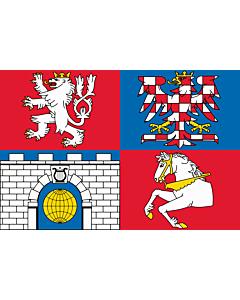 Flag: Pardubice Region