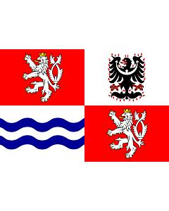 Flag: Central Bohemian Region