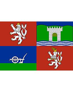 Flag: Ústí nad Labem Region