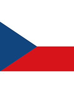 Flag: Czechia (Czech Republic)