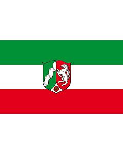 Flag: North Rhine-Westphalia