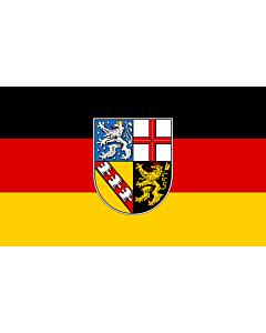 Flag: Saarland