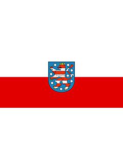 Flag: Thuringia