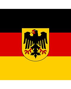 Flag: German Minister