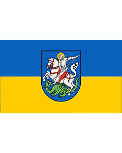 Flag: Hattingen | Beschreibung der Flagge  Die Stadtfarben sind BlauGelb
