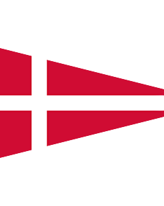 Flag: Naval Rank Denmark Senior Officer Afloat