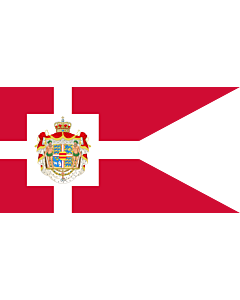 Flag: Royal Standard of Denmark