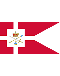 Flag: Standard of the Regent of Denmark