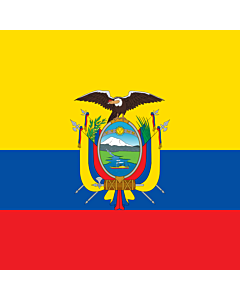 Flag: National Standard of Ecuador