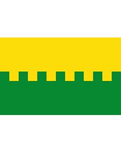 Flag: Saue town, Estonia