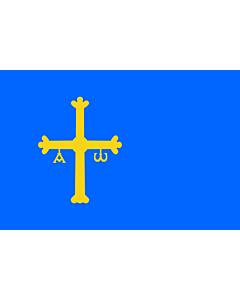 Flag: Principality of Asturias