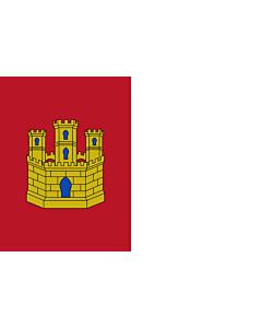 Flag: Castile-La Mancha