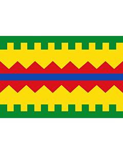 Flag: Aguarón, in Zaragoza province, Aragon