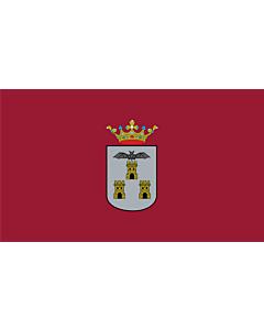 Flag: Albacete-Bandera | Ciudad de Albacete, en Albacete  España