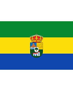 Flag: Tres Villas | Municipio de Las Tres Villas en la Provincia de Almería  España