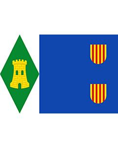 Flag: Torrijo del Campo | Torrijo del Campo De paño azul