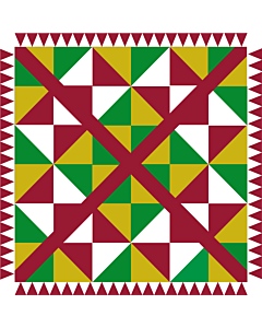 Flag: Baztan valey  Navarre - Spain