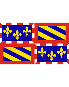 Flag: Burgundy