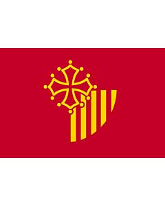 Flag: Languedoc-Roussillon