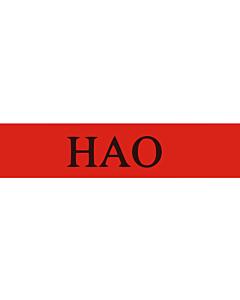 Flag: Hao